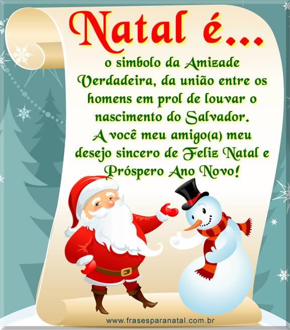 freses de feliz natal