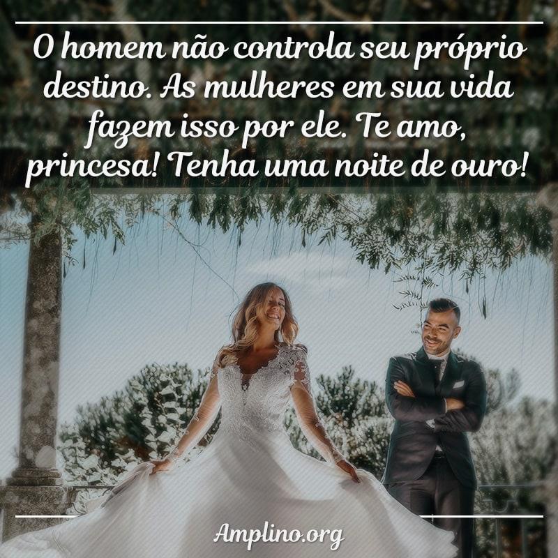 O homem não controla seu próprio destino. As mulheres em sua vida fazem isso por ele. tenha uma noite de ouro!